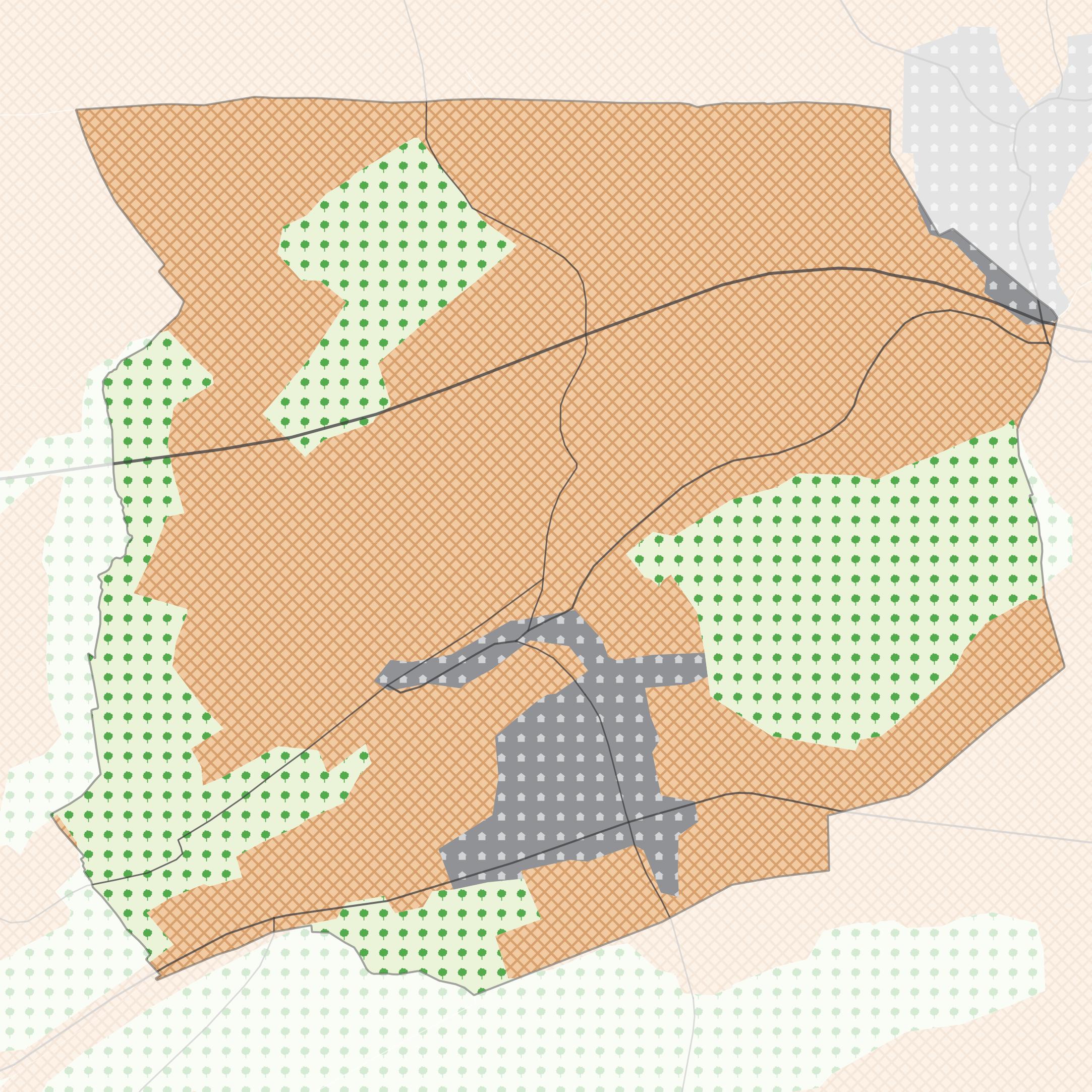 Carte vectorielle du territoire de Zimming